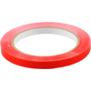 Packing tape, PVC, 9mm, 66m, red