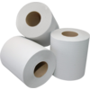 Qleaniq® Cleaning paper, 1-ply, 21cm, 300m, White.