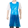 ComFort Apron and coat, LDPE, 81x125cm, 20my, blue