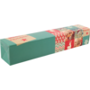 Tube, Pastry baton box, square , Christmas , 60x60x320mm,