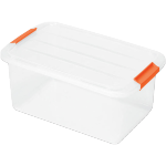Container, Plastic, transport container, 390x290x186mm, transparent