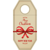 Bottle tag , Cardboard, Your own printing, Incl. (printing) plate costs, 80x175mm